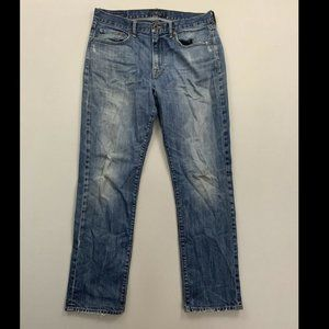 Lucky Brand Men's Blue 410 Athletic Fit Jeans 34